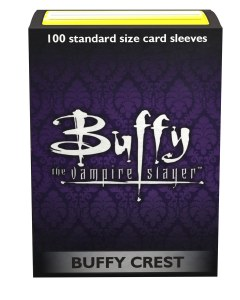 Dragon Shield 100ct Sleeves Box Buffy the Vampire Slayer Buffy Crest