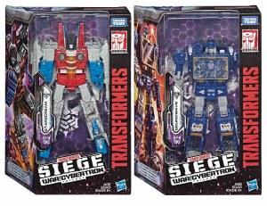Transformers Gen War for Cybertron Voyager Starscream AF