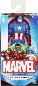 Marvel Basic 6 In Captain America Action Figure