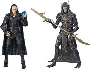 Marvel Legends Avengers Iinfinity War Loki and Corvus Glaive Action Figure 2 Pack