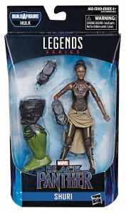 Marvel Legends Avengers Black Panther Movie Shuri AF
