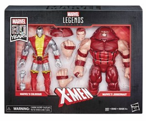 Marvel Legends Marvel 80 Years Colossus/Juggernaut AF 2 Pack