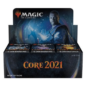 Magic the Gathering MTG Core Set 2021 Booster Box