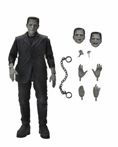 Universal Monsters Frankensteins Monster Black and White Version Ultimate Edition