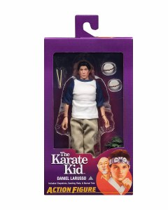 Karate Kid Daniel LaRusso 8 In Retro Action Figure