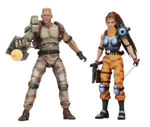 Alien v Predator Arcade Edition Dutch/Linn Action Figure 2 Pack