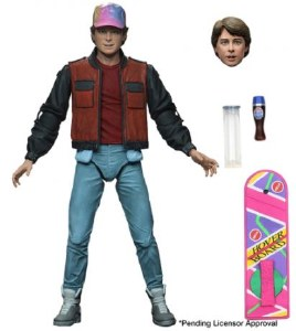 Back to the Future II Ultimate Marty McFly Action Figure