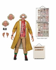 Back to the Future II Ultimate Doc Brown Action Figure