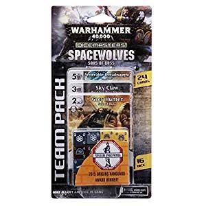 Dicemasters Warhammer 40K Space Wolves