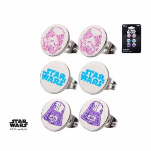 Star Wars 3 Pc Earring Set