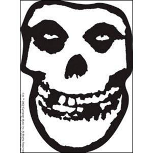 Misfits Clear Sticker