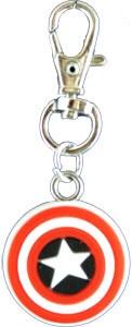 Captain America's Shield Zipper Pull