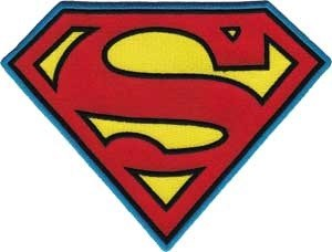 DC Comics Originals Superman Back Patch