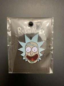 Drunk Rick Enamel Pin Rick and Morty