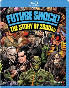 Future Shock!: The Story of 200AD Blu Ray