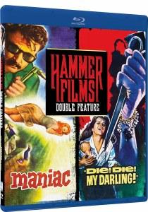 Hammer Films Double Feature Volume 3 Maniac Die! Die! My Darling!