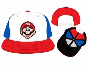 Mario Rubber Patch Colorblock Snapback