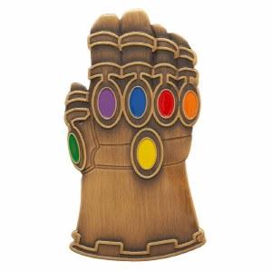 "Avengers Endgame Infinity Gauntlet 3"" Lapel Pin"