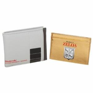 Nintendo NES Bi-Fold Wallet w/ Zelda Card Wallet