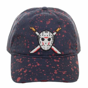 Friday the 13th Jason Splattered Dad Hat