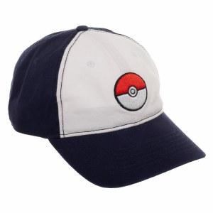 Pokemon Pokeball Colorblock Dad Hat
