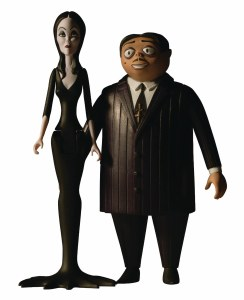 5 Points The Addams Family Morticia/Gomez/Thing AF Pack