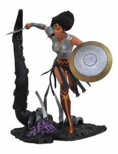 DC Gallery Metal Wonder Woman PVC Figure