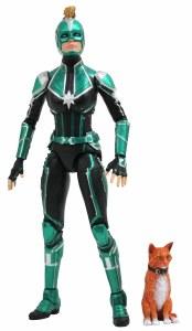 Marvel Select Captain Marvel Movie Starforce Captain Marvel Action Figure