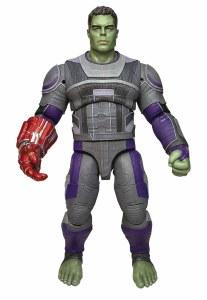 Marvel Select Avengers Endgame Hero Suit Hulk Action Figure