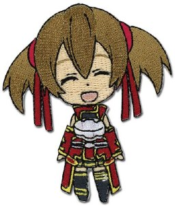 Sword Art Online Chibi Silica Smile Patch