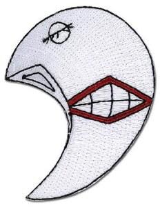 Tokyo Ghoul Tsukiyama's Mask Patch
