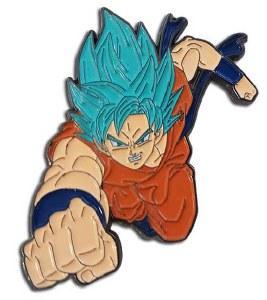 Dragon Ball Super SSGSS Goku Enamel Pin