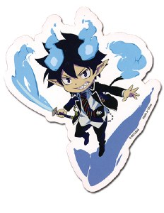 Blue Exorcist Rin Sticker