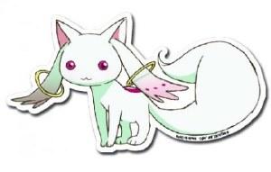 Madoka Magica Kyubey Sticker