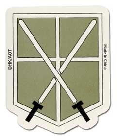 Attack On Titan 104th Trainee Squad Sticker