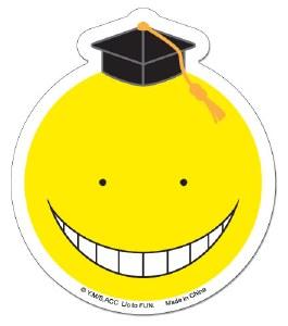 Assassination Classroom Koro Sensei Yellow Sticker