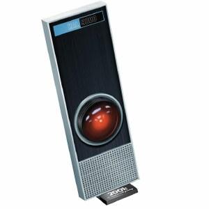 2001 A Space Odyssey Hal 9000 1/1 Scale Plastic Model Kit w/ LED Eye