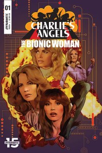 Charlies Angels Vs Bionic Woman #1 Signed