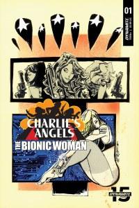 Charlies Angels Vs Bionic Woman #1 Cvr B Signed