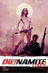 Die!Namite Lives #3 Cvr B