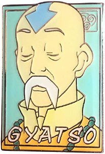 Avatar: Last Airbender Gyasto Pastel Pin