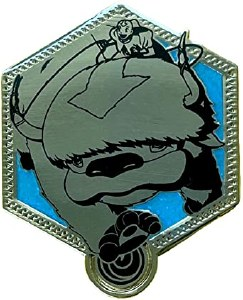 Avatar: Last Airbender Appa Gold Enamel Pin