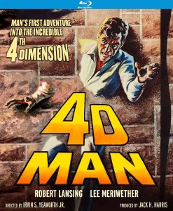 4D Man Special Edition Blu ray