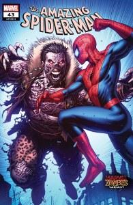 Amazing Spider-Man #43 Marvel Zombie Var