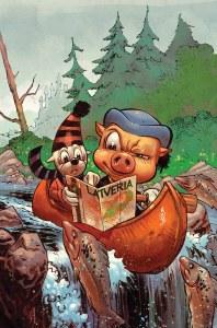 Ziggy Pig Silly Seal Comics #1