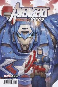 Avengers Mech Strike #3 Nakayama Variant