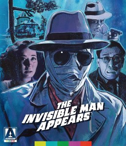 Invisible Man Appears Invisible Man Vs The Human Fly Blu ray