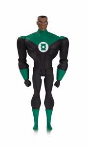 Justice League Animated Green Lantern John Stewart Action Figure