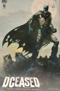 DCeased #5 Forbidden Planet NYC Exclusive Arthur Suydam Variant