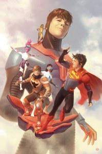 Legion of Super Heroes #5 Card Stock Alex Garner Variant